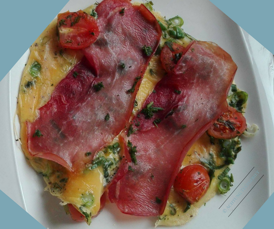 omelette mit tomate und schinken weight watchers. Black Bedroom Furniture Sets. Home Design Ideas