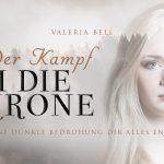 Banner Der Kampf um die Krone von Valeria Bell