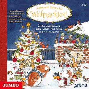 Andreas H. Schmachtl: Weihnachten! 24 Geschichten mit Tilda Apfelkern, Snöfrid und vielen anderen