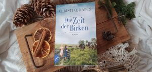 Buchbild Die Zeit der Birken von Christine Kabus